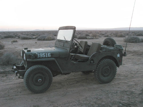 1950 Willys M38